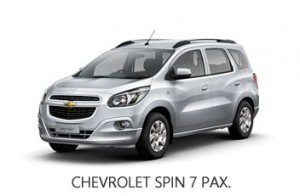 CHEVROLET SPIN 7 PAX.